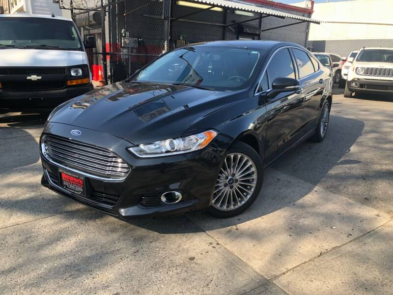 2014 Ford Fusion for sale at Newark Auto Sports Co. in Newark NJ