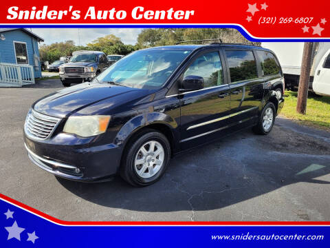 2011 Chrysler Town and Country for sale at Snider's Auto Center in Titusville FL
