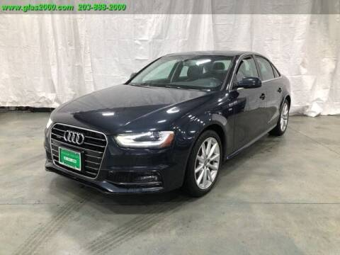 2016 Audi A4 for sale at Green Light Auto Sales LLC in Bethany CT