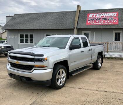 2017 Chevrolet Silverado 1500 for sale at Stephen Motor Sales LLC in Caldwell OH