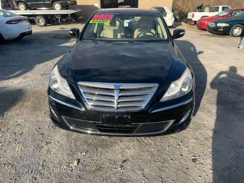 2012 Hyundai Genesis for sale at GET N GO USED AUTO & REPAIR LLC in Martinsburg WV