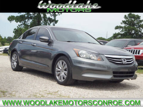 2011 Honda Accord for sale at WOODLAKE MOTORS in Conroe TX
