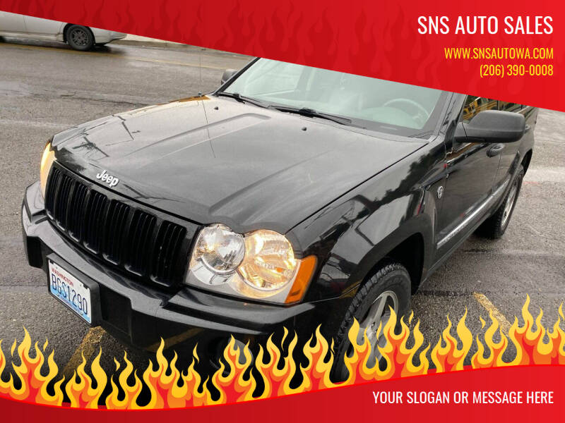 2005 Jeep Grand Cherokee for sale at SNS AUTO SALES in Seattle WA