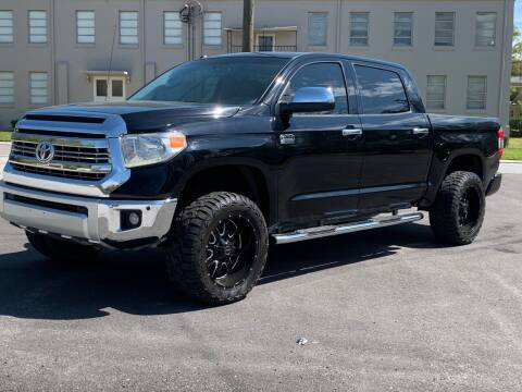 2014 Toyota Tundra for sale at LUXURY AUTO MALL in Tampa FL