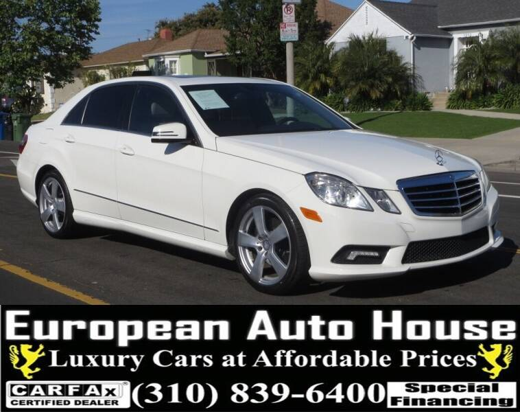 2011 Mercedes-Benz E-Class for sale at European Auto House in Los Angeles CA