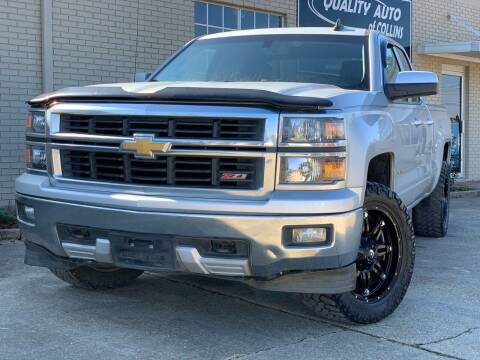 2015 Chevrolet Silverado 1500 for sale at Quality Auto of Collins in Collins MS