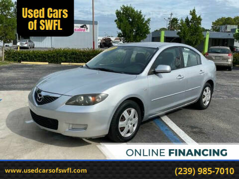 2007 Mazda MAZDA3 for sale at Used Cars of SWFL in Fort Myers FL