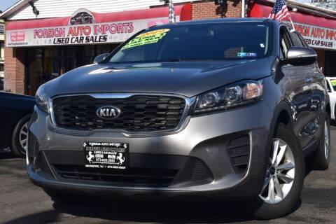 2019 Kia Sorento for sale at Foreign Auto Imports in Irvington NJ