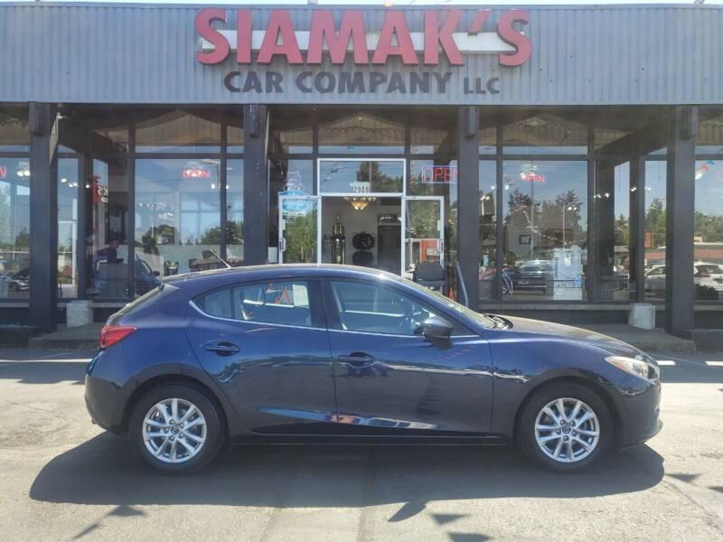 2014 Mazda MAZDA3 for sale at Siamak's Car Company llc in Salem OR