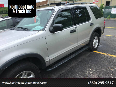 2003 Ford Explorer for sale at Northeast Auto & Truck Inc in Marlborough CT
