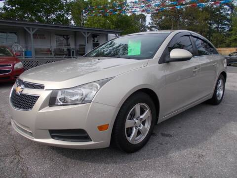 2012 Chevrolet Cruze for sale at Culpepper Auto Sales in Cullman AL