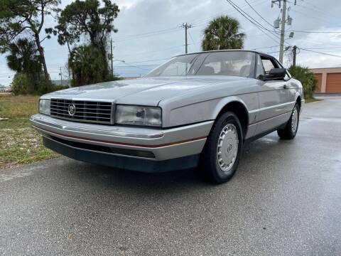 1987 Cadillac Allante for sale at American Classics Autotrader LLC in Pompano Beach FL
