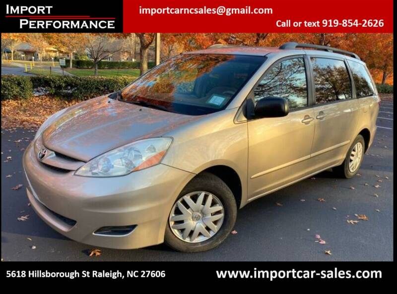 2006 Toyota Sienna for sale at Import Performance Sales in Raleigh NC