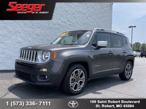 2016 Jeep Renegade for sale at SEEGER TOYOTA OF ST ROBERT in Saint Robert MO