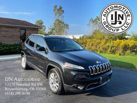 2015 Jeep Cherokee for sale at IJN Automotive Group LLC in Reynoldsburg OH