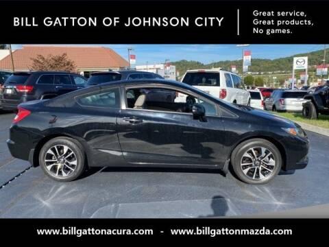 2013 Honda Civic for sale at Bill Gatton Used Cars - BILL GATTON ACURA MAZDA in Johnson City TN