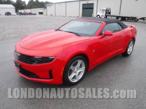 2020 Chevrolet Camaro for sale at London Auto Sales LLC in London KY