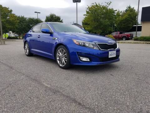 2015 Kia Optima for sale at A&R MOTORS in Portsmouth VA