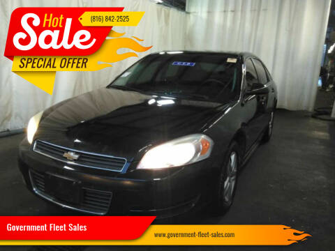 2010 Chevrolet Impala for sale at Government Fleet Sales in Kansas City MO