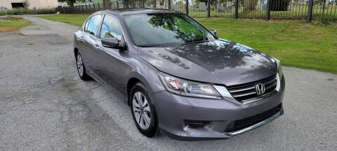 2015 Honda Accord for sale at WEELZ in New Castle DE
