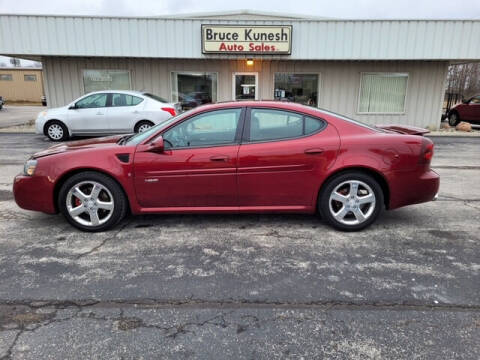 2008 Pontiac Grand Prix for sale at Bruce Kunesh Auto Sales Inc in Defiance OH