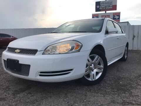 2013 Chevrolet Impala for sale at Texas Country Auto Sales LLC in Austin TX