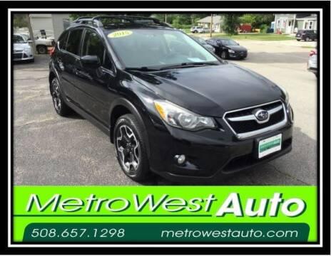 2015 Subaru XV Crosstrek for sale at Metro West Auto in Bellingham MA