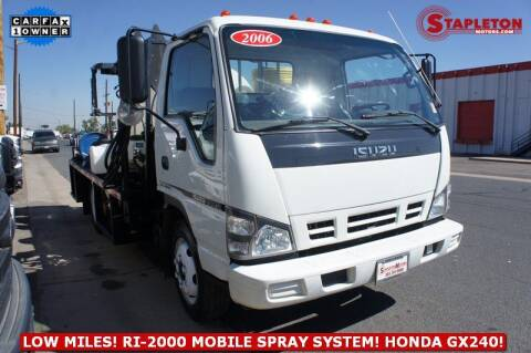 2006 Isuzu NQR for sale at STAPLETON MOTORS in Commerce City CO