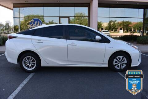 2016 Toyota Prius for sale at GOLDIES MOTORS in Phoenix AZ
