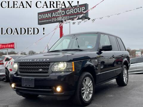 2011 Land Rover Range Rover for sale at Divan Auto Group in Feasterville PA