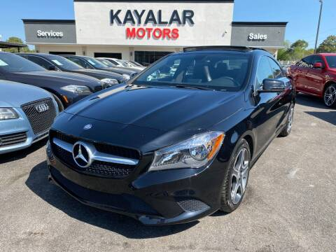 2014 Mercedes-Benz CLA for sale at KAYALAR MOTORS in Houston TX