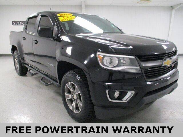 2015 Chevrolet Colorado for sale at Sports & Luxury Auto in Blue Springs MO