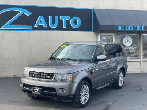 2010 Land Rover Range Rover Sport for sale at Z Auto in Sacramento CA