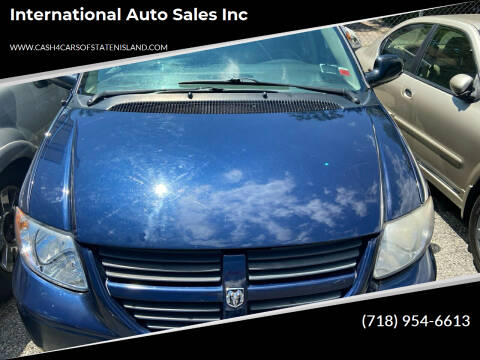 2006 Dodge Grand Caravan for sale at International Auto Sales Inc in Staten Island NY