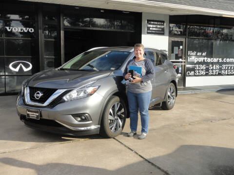 2017 Nissan Murano for sale at importacar in Madison NC