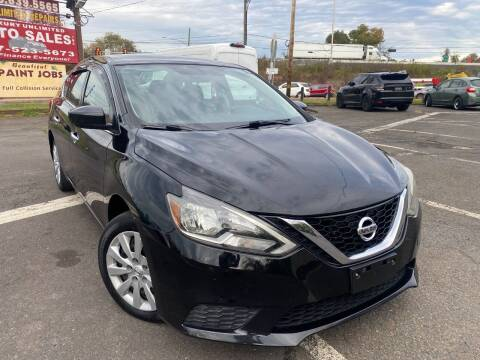 2016 Nissan Sentra for sale at Luxury Unlimited Auto Sales Inc. in Trevose PA