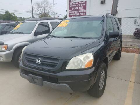 2004 Honda Pilot for sale at Kenosha Auto Outlet LLC in Kenosha WI