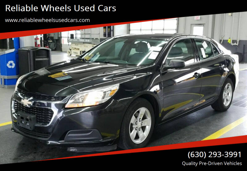 2014 Chevrolet Malibu for sale at Reliable Wheels Used Cars in West Chicago IL