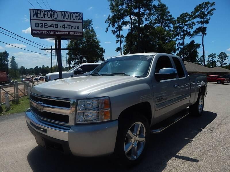 2009 Chevrolet Silverado 1500 for sale at Medford Motors Inc. in Magnolia TX