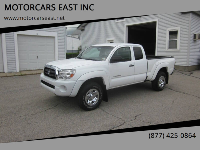 2011 Toyota Tacoma for sale at MOTORCARS EAST INC in Derry NH