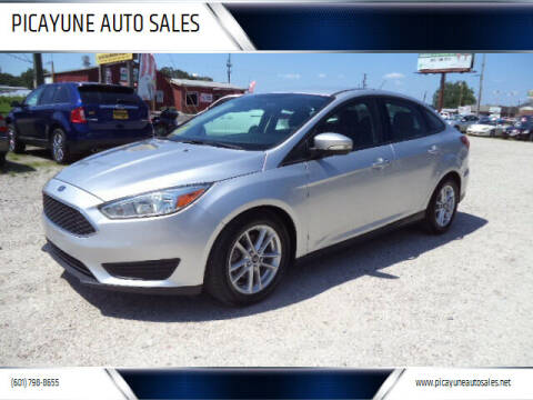 2016 Ford Focus for sale at PICAYUNE AUTO SALES in Picayune MS