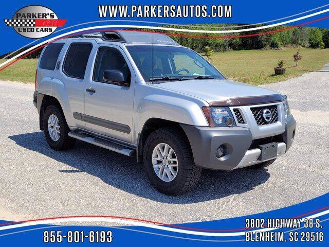2015 Nissan Xterra for sale at Parker's Used Cars in Blenheim SC