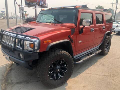 2003 HUMMER H2 for sale at TTT Auto Sales in Spokane WA