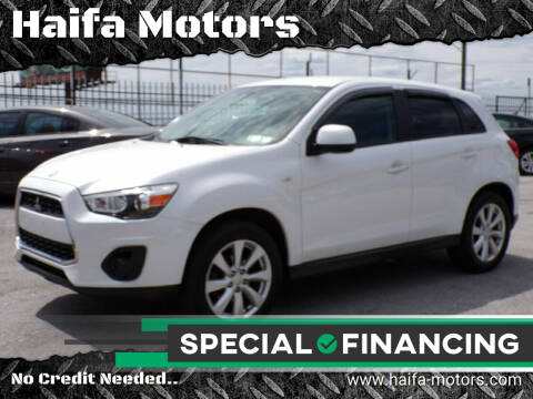 2015 Mitsubishi Outlander Sport for sale at Haifa Motors in Philadelphia PA