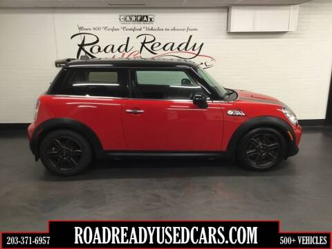 2012 MINI Cooper Hardtop for sale at Road Ready Used Cars in Ansonia CT