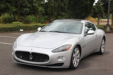 2008 Maserati GranTurismo for sale at Top Gear Motors in Lynnwood WA