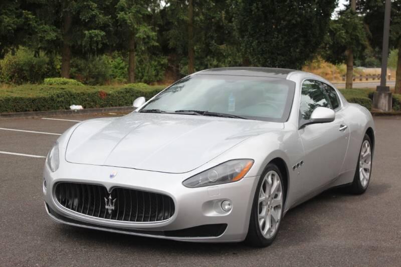2008 Maserati GranTurismo for sale at Top Gear Motors in Lynnwood WA