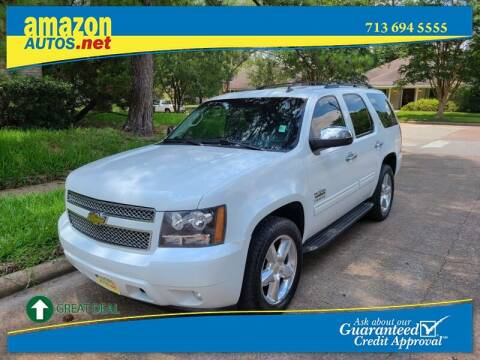 2010 Chevrolet Tahoe for sale at Amazon Autos in Houston TX