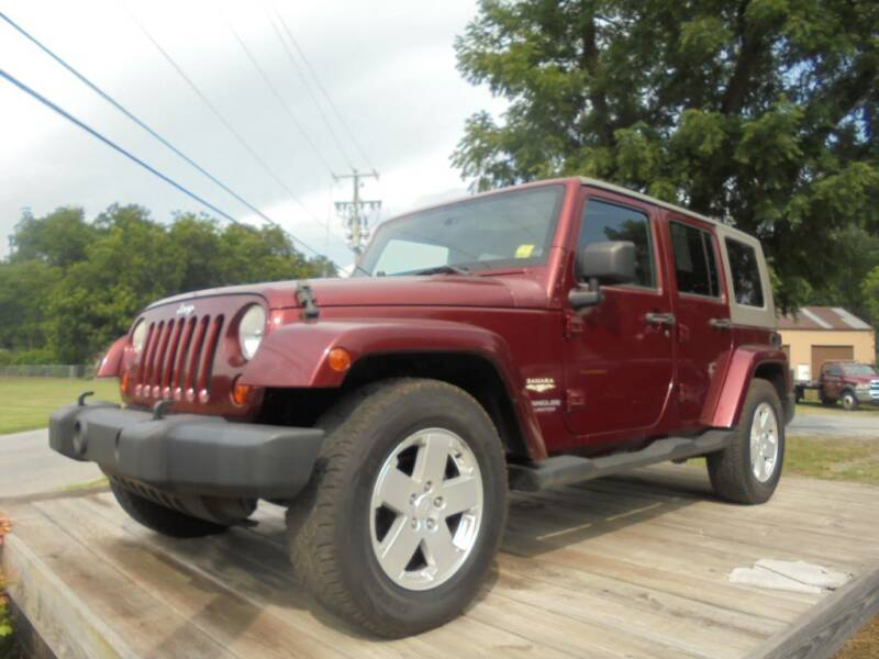 2007 Jeep Wrangler Unlimited for sale at Curtis Lewis Motor Co in Rockmart GA