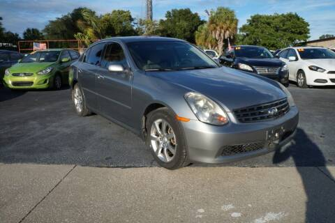 2006 Infiniti G35 for sale at J Linn Motors in Clearwater FL